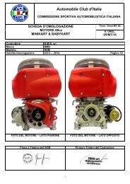Automobile Club d'Italia - BMB Motorsport Engines