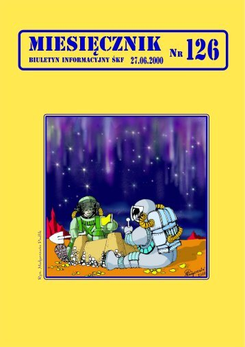 Miesięcznik nr. 126 - Śląski Klub Fantastyki
