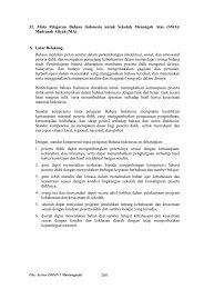 SK-KD Bahasa Indonesia SMA