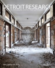 Detroit Research Volume 1