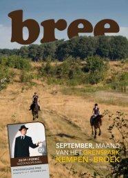 Stadsmagazine September 2013 - Stad Bree