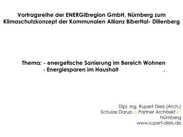Energetische Sanierung von Wohngebäuden, Energiesparen im ...