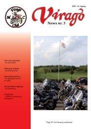 News nr. 3 - Virago MC Tur Klub
