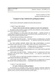 Darba aizsardzību regulējošo normatīvo aktu pārkāpšana