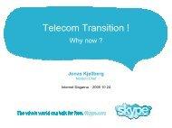 Skyper presentation - Internetdagarna