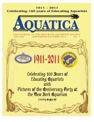 AQUATICA - Brooklyn Aquarium Society