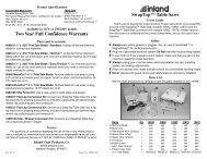 inland flat lap machines glas per. Black Bedroom Furniture Sets. Home Design Ideas
