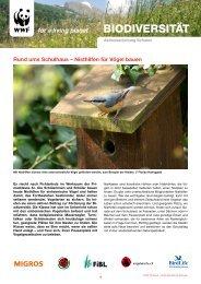 6_1_1 WWF Aktionsanleitung - Nisthilfen für ... - heckenprojekt.ch