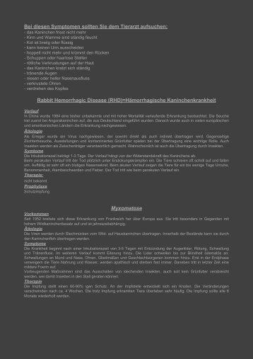 Krankheiten - Minilop-zwergwidder.de