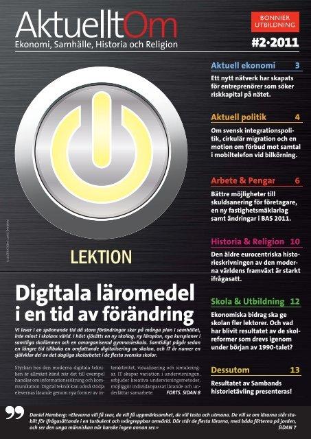 Digitala läromedel - Sanoma Utbildning