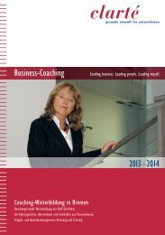 Business-Coaching 20 31 –2014 - clarte.de