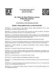 """4to. Salón de Artes Plásticas Larense """"Rafael Monasterios"""" U.C.L.A."""