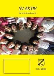 Ausgabe 1/2009 - Freizeitsport - SV Rosellen
