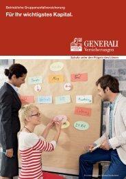 Gruppenunfall-Versicherung - Die VersicherungsAgenten