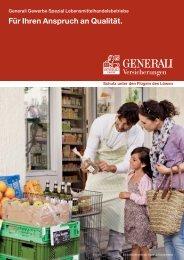 Lebensmittelhandel - Die VersicherungsAgenten