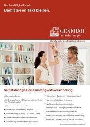 BU klassik Highlight-Blatt - Die VersicherungsAgenten