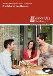 Gastronomie - Die VersicherungsAgenten