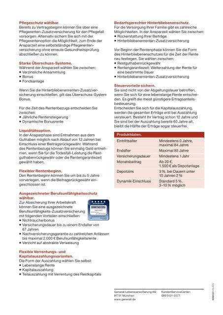 Rentenversicherung - Die VersicherungsAgenten