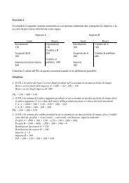 Soluzione esercizi 1-2-3