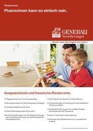 Riesterrente - Die VersicherungsAgenten