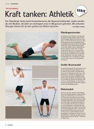 Kraft tanken: Athletik - Allwetterkind