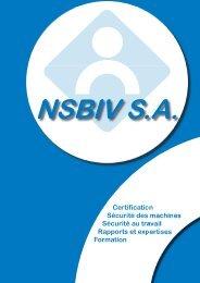 Certification Sécurité des machines Sécurité au travail Rapports et ...
