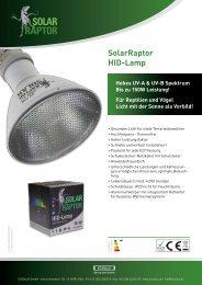 SolarRaptor HID-Lamp - ECONLUX
