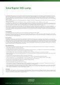 SolarRaptor HID-Lamp - ECONLUX - Seite 3
