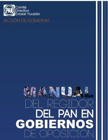 CDE-PAN-YUCATAN-Manual-del-Regidor-del-Pan-en-Gobiernos-de-Oposicion-Junio-2014