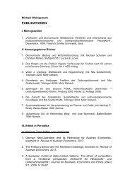 PUBLIKATIONEN - Open Europe Berlin