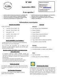 KELEIER 684 SEPTEMBRE 2011 - Commune de Lanrivoaré