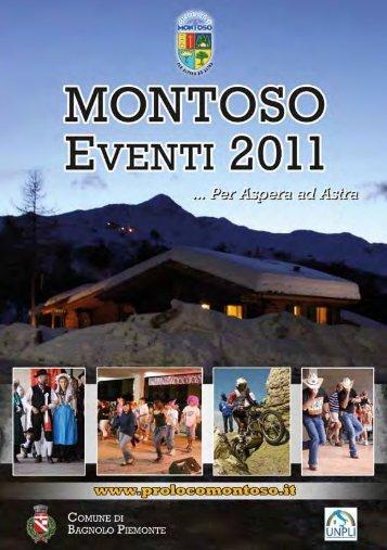 Un 2011 ricco di eventi... - UNPLI Piemonte