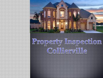 Property Inspection Collierville