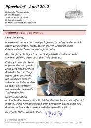 St. Trinitas Lübben - THEATER - MYTHEN Senftenberg