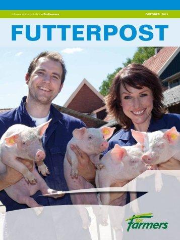Informationszeitschrift von ForFarmers OKTOBER 2011