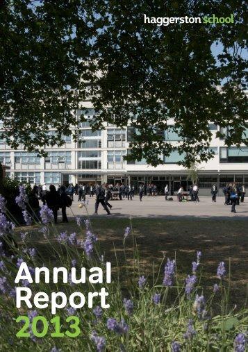 Haggerston-School-Annual-Report-2013