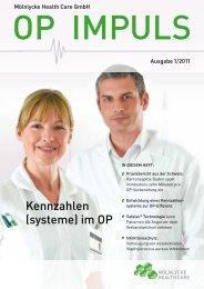 Ausgabe 1/2011 - Mölnlycke Health Care