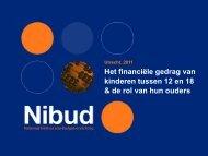 Het financiële gedrag van kinderen tussen 12 en 18 & de rol ... - Nibud