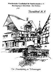 fachsitzung evangelischer kirchenarchivare in speyer - WGfF