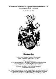Verzeichnis der Männer, Weiber, Knechte, Mägde, Kühe ... - WGfF