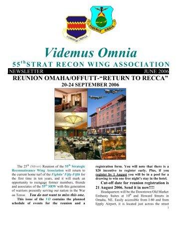 Videmus Omnia - 55th  Association Web page