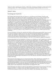 Theodor W. Adorno: Erziehung nach Auschwitz. - Erinnern