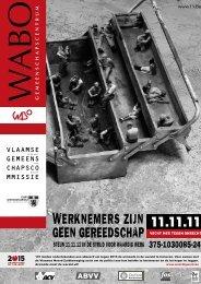 Maandblad november 2008 - Vlemco