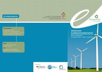 workshop klimaschutzinitiative - Engagiert online