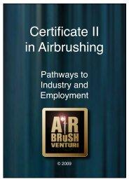 Certificate II in Airbrushing - Airbrush Venturi