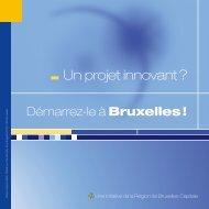 Les incubateurs en Région de Bruxelles-Capitale