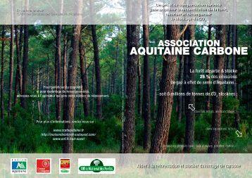 Plaquette Association Aquitaine carbone - Le Centre Régional de ...
