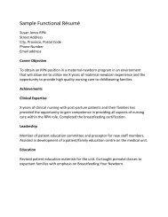 Functional - Registered Practical Nurses Association of Ontario