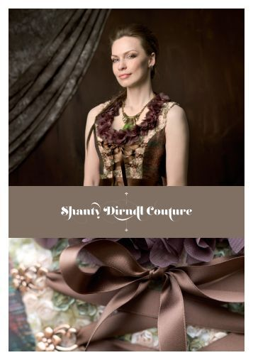 Lookbook Fasiondesigner Shanty Dirndl Couture
