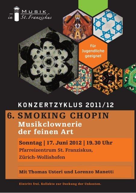 6. SMOKING CHOPIN - Musik in St. Franziskus